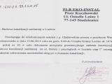 Naprawa ulicy Dobrej i Letniej w Luzinie do 04.07.2015